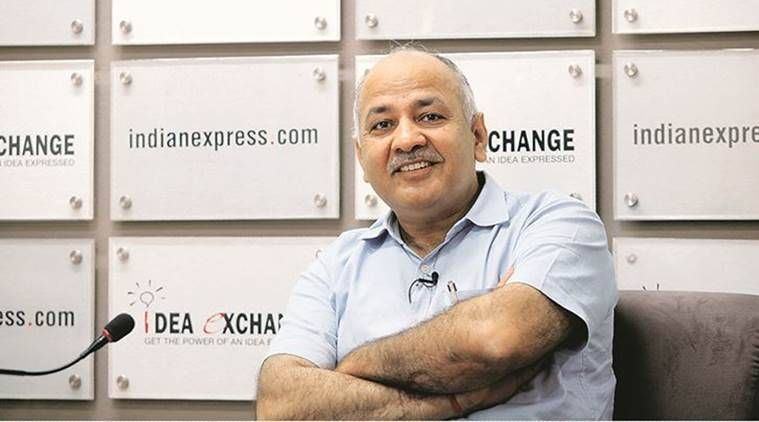 Manish Sisodia, Deputy CM Manish Sisodia, DU, DU Colleges, Education News, Indian Express, Indian Express News
