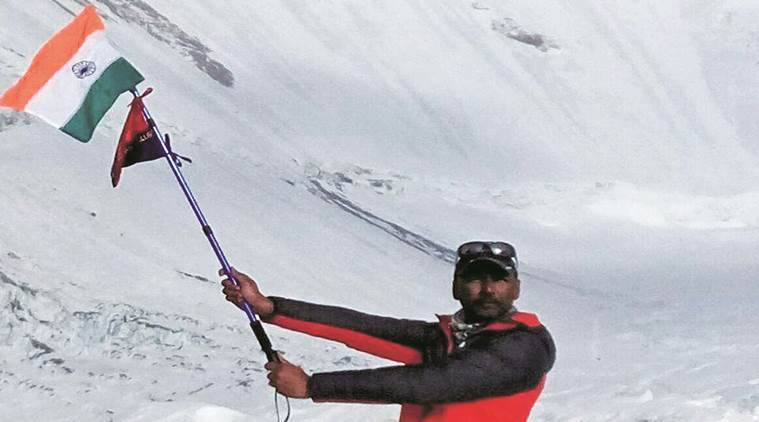 Diljinder Singh Bachhal, Mount Everest, Mount Everest climbing, chandigarh, latest news, indian express