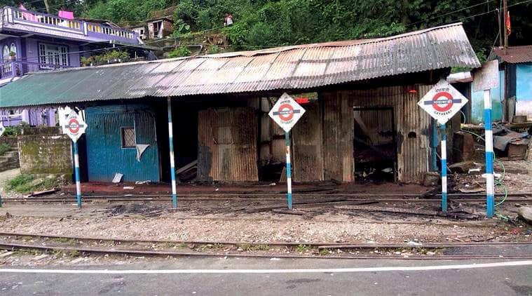Gorkhaland protest, Darjeeling Unrest, Darjeeling protest, Darjeeling separate state demand, GJM, GTA office set on fire, Darjeeling railway station set on fire, Bimal Gurung