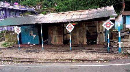 GTA office, railway station set on fire in Darjeeling Hills