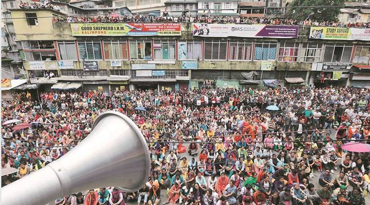 Darjeeling Unrest, West Bengal Violence, Gorkha Agitation, More CRPF companies Sent to Darjeeling, Centre to Supreme Court, Indian Express News