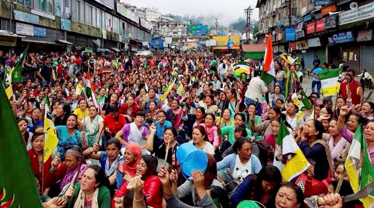 gorkhaland news, gjm news, india news, indian express news