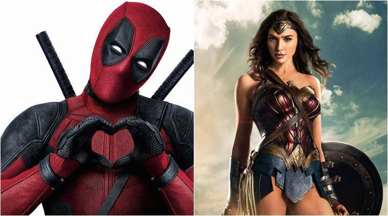deadpool, ryan reynolds, wonder woman, gal gadot