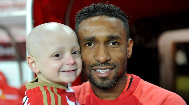 Jermain Defoe pays tribute to