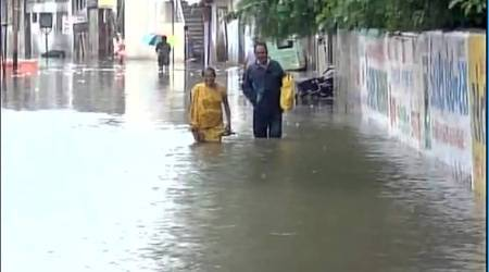 Incessant rains lash Gujarat, over 7000 people relocated in two days