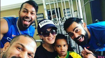 Indian cricket team has a new trend setter – Shikhar Dhawan's son Zoravar