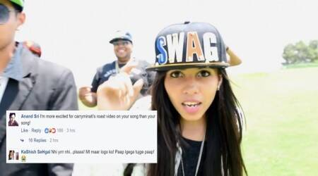 Dhinchak Pooja announced 'new video' on Facebook and Internet lost its calm