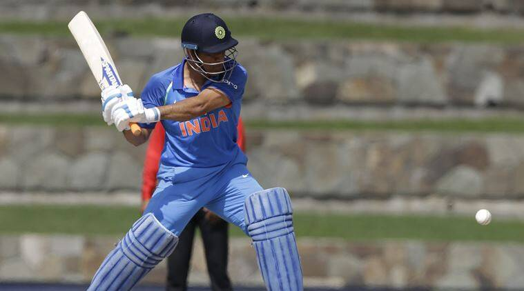 india vs west indies, ms dhoni, ms dhoni slowest 50, dhoni 50, cricket news, cricket, sports news, indian express