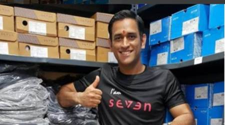 MS Dhoni launches first store of 'Seven' in Ranchi