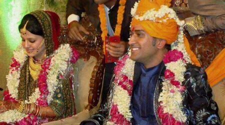 MS Dhoni and Sakshi celebrate seventh wedding anniversary