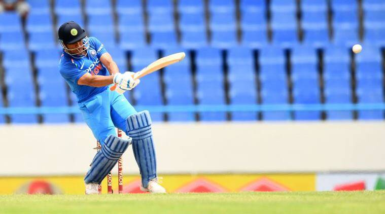 MS Dhoni, Dhoni six, India vs West Indies, Ind vs WI, Cricket news, Indian Express