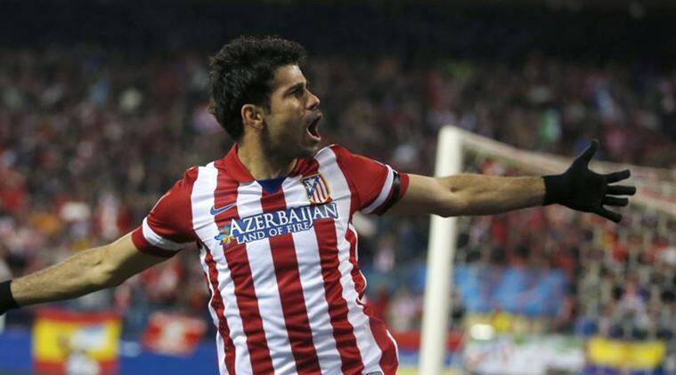 Diego Costa Is Currently Partying In Brazil Wearing An Atletico Madrid Shirt