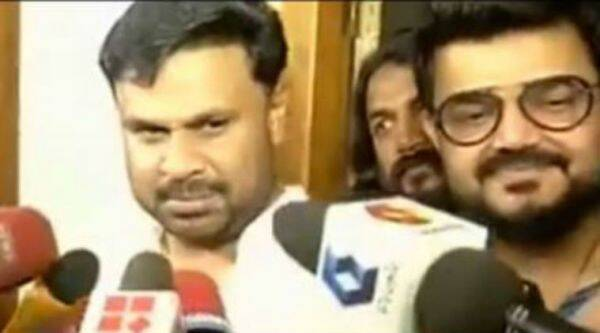 dileep arrest image, dileep arrested, malayalam actress abduction case