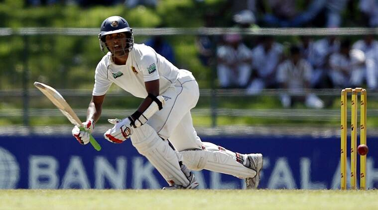 Dinesh Chandimal, Sri Lanka cricket board, India vs Sri Lanka, Dinesh Chandimal batting, sports news, cricket, Indian Express