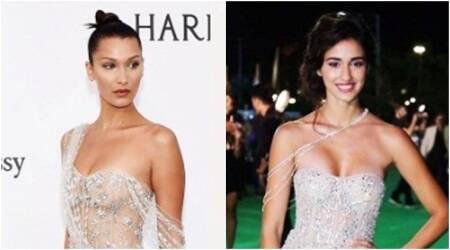 Disha Patani or Bella Hadid: Who wore the risqué beaded gownbetter?