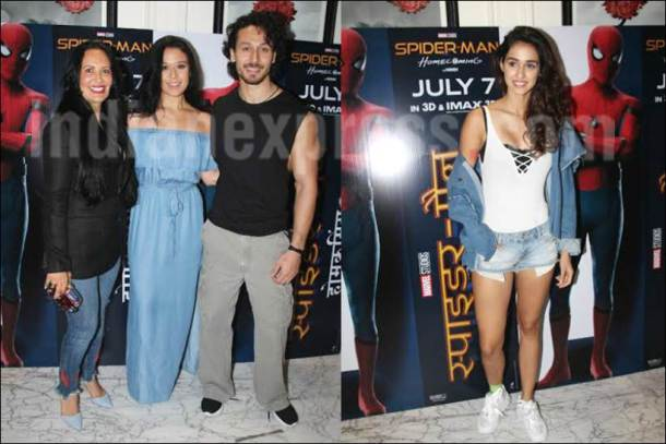 Disha Patani, Disha Patani tiger shroff family, tiger shroff mother, tiger shroff sister, Disha Patani photos