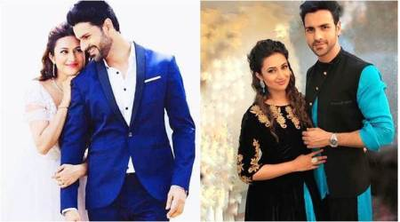 Divyanka Tripathi, Vivek Dahiya are lost into each other and it's a perfect prelude to their first wedding anniversary, seephoto
