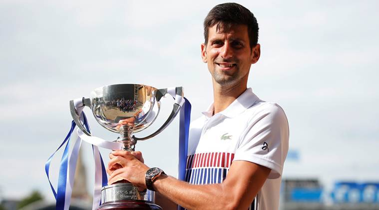 Novak Djokovic, Gael Monfils, Mario Ancic, Aegon international tournament, tennis news, sports news, indian express