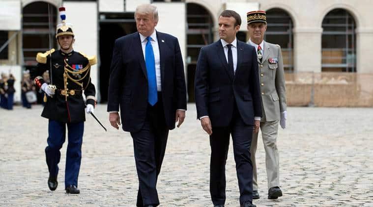 donald trump, trump in france, trump france deal, trump france visit, us france relations, emmanuel macron, trump macron meet, world news