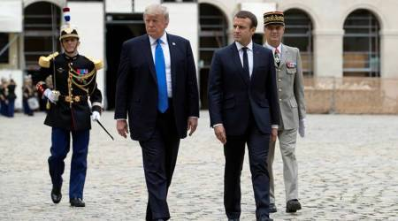 Trump-Macron meeting next week: Iran deal, Syria situation on agenda