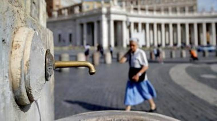 Severe Drought Leads Fountains to Get Turned Off in Vatican