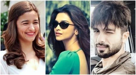 Shahid Kapoor is starry eyed for his Padmavati co-star Deepika Padukone and Alia Bhatt is agreeingtoo