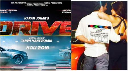 Drive first poster: Sushant Singh Rajput, Jacqueline Fernandez all set to 'start, zoom and accelerate' on March 2
