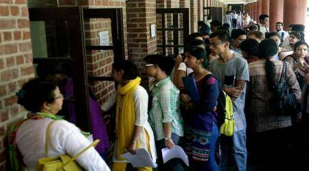 DU admissions 2017: In third list, cut-offs above 90 per cent in popular colleges