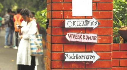 In DU, students from out of town share their worries