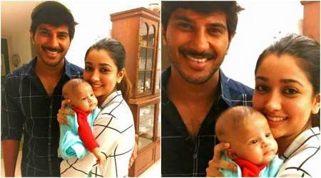 Dulquer Salmaan's fans go gaga after getting the first look at his daughter Maryam Ameerah. See photo