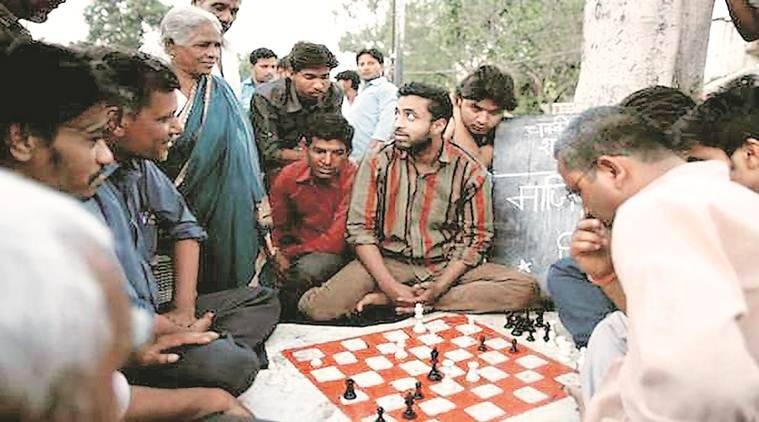film Turup, sociopolitical issues through community chess games,  community chess games played in Bhopal , Indian Express News