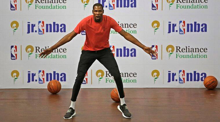 Kevin Durant sets Guinness World Record in India