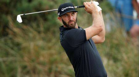 dustin johnson, the open, open gold championships