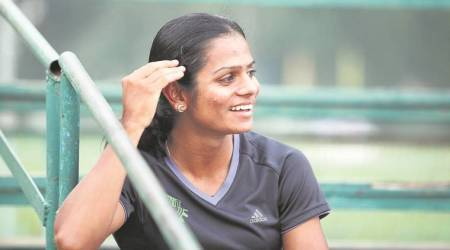 Dutee Chand will continue to train in Hyderabad until next year's Asian, World Championships