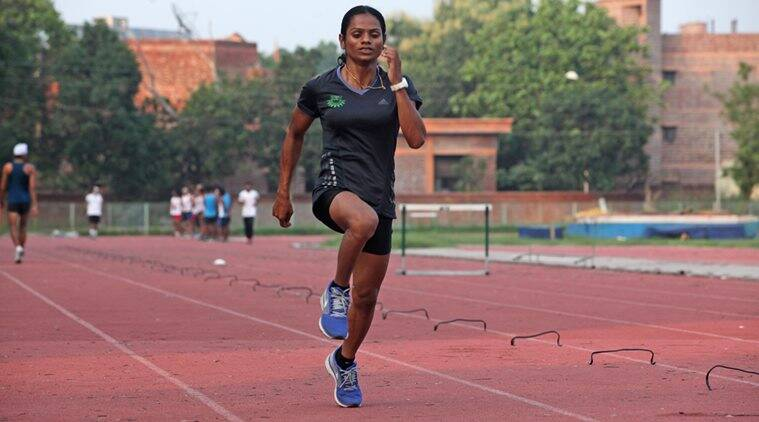 Dutee Chand, India, Indian Express