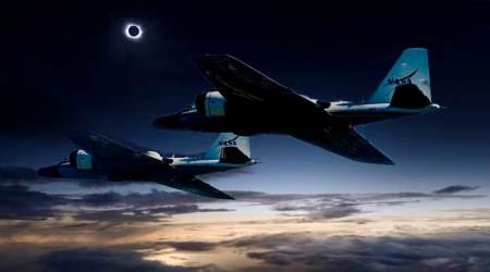 NASA scientists to chase solar eclipse using special research jets