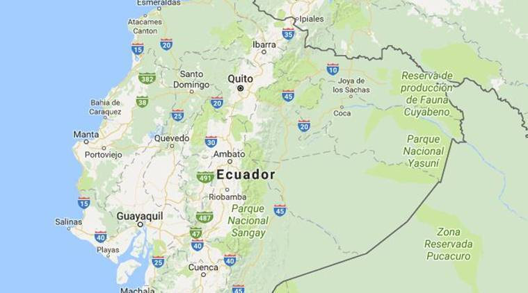 Ecuador, earthquake, Ecuador earthquake, earthquake today, Ecuador quake, USGS, central Ecuador earthquake, world news