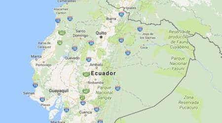 Magnitude 6.0 earthquake hits off Ecuador coast, 5injured