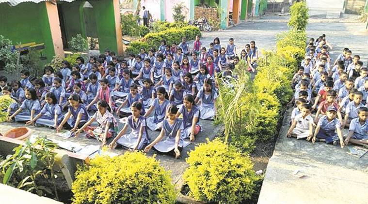 Nawli zilla parishad school, Maharashtra Nawli zilla parishad school, Nawli zilla parishad school Washim District, Education News, Latest Education News, Indian Express, Indian Express News