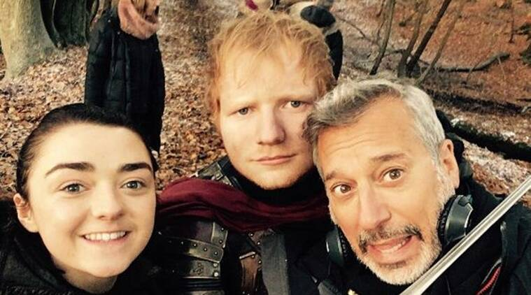 ed sheeran, ed sheeran game of thrones, ed sheeran got, ed sheeran got photos, ed sheeran got video