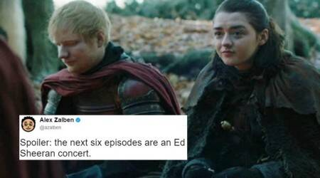 Twitterati lose calm after spotting Ed Sheeran in Game of Thrones season 7 premiere (no other spoilers)