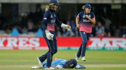 Women's World Cup: England fourth time champions after India suffer stunning collapse