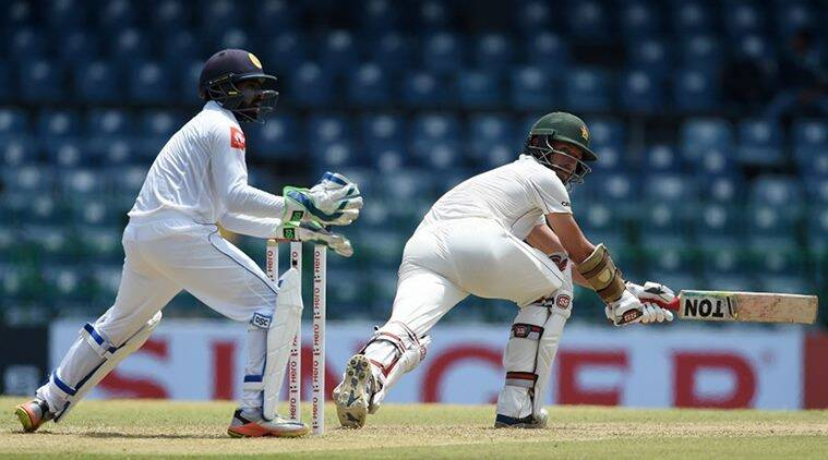 Craig Ervine bats Zimbabwe to safety in one-off test v Sri Lanka