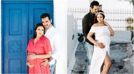 Mom-to-be Esha Deol is 'making lovely memories' with husband Bharat Takhtani, see photos