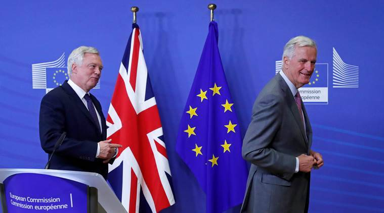 Brexit, Theresa May, London, EU, UK Brexit, Brussels, David Davis, European Union, Michel Barnier, EU referendum, hard brexit, latest news, latest world news