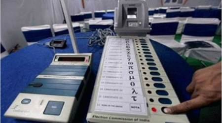karnataka assembly elections 2018, shiv sena accuses bjp of evm tampering, indian express, shiv sena saamna, indian express
