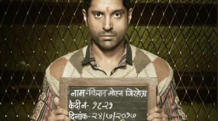 farhan akhtar, lucknow central first look, farhan akhtar lucknow central, farhan akhtar films