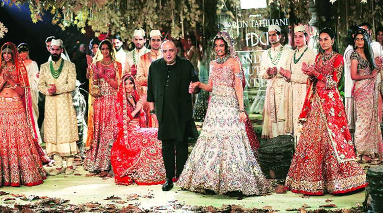 Tarun Tahiliani, India Couture Week, Tarakanna a bridal and occasional wear collection, India news, National news, Latest news, India news