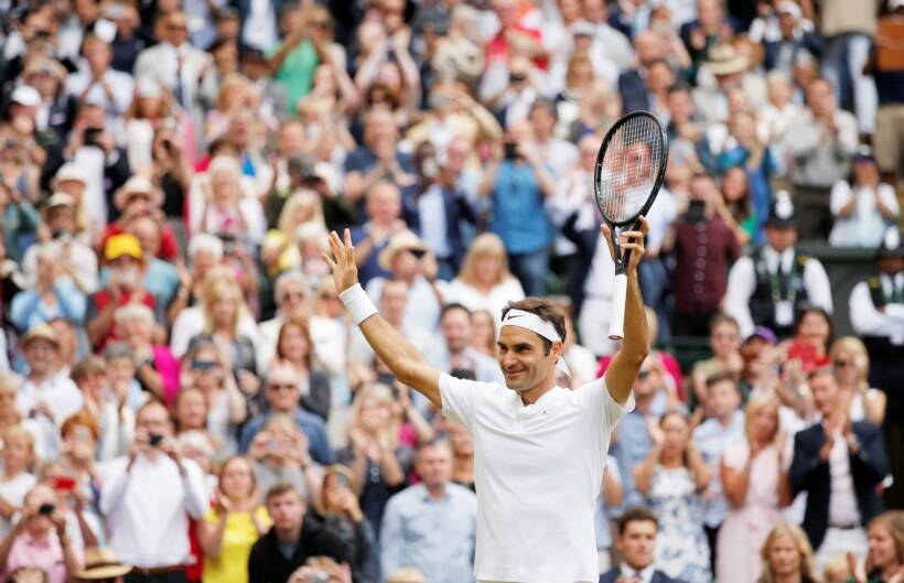 Roger Federer lands a record eighth Wimbledon title
