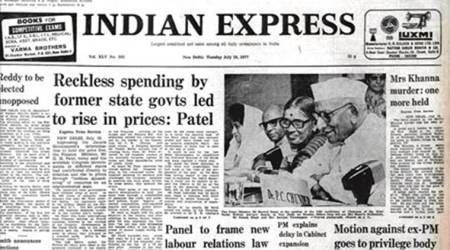 Neelam Sanjiva Reddy, President Neelam Sanjiva Reddy, PM Morarji Desai, PM Indira Gandhi, Forty Years Ago, India News, Indian Express, Indian Express News
